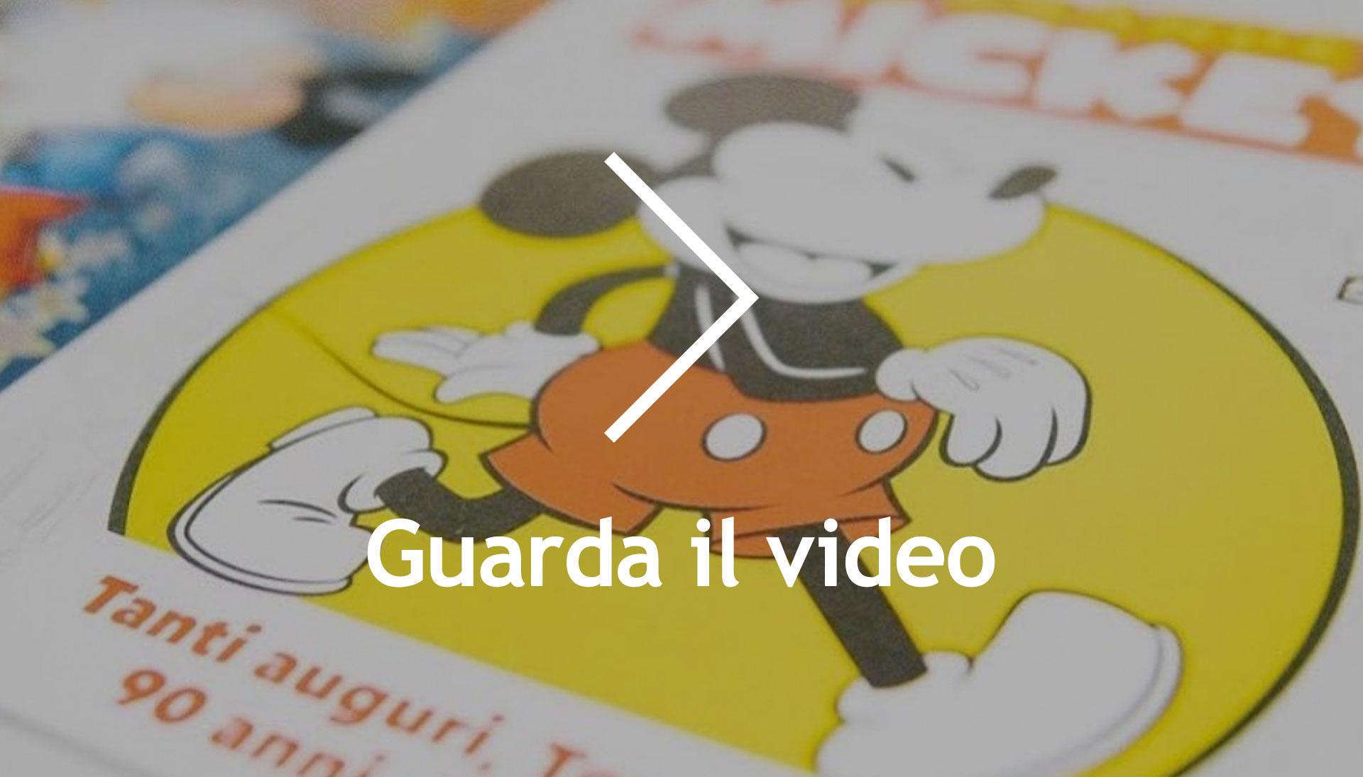 About Agency - 90 anni di Topolino/ guarda il video - Panini comics