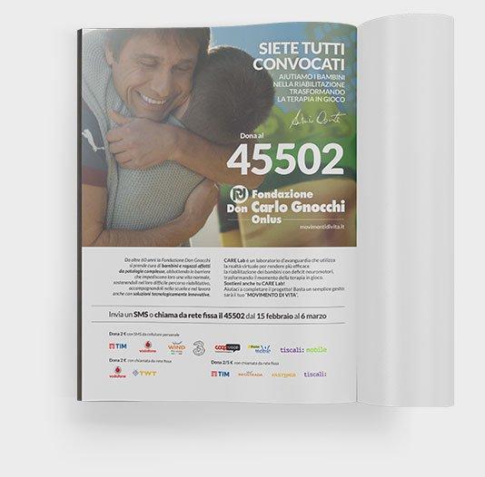 About Agency - progetto movimenti di vita brochure- Fondazione carlo gnocchi onlus