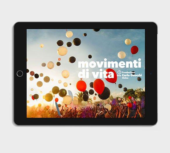 About Agency - progetto movimenti di vita - Fondazione carlo gnocchi onlus