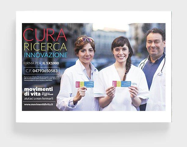 About Agency - progetto movimenti di vita website- Fondazione carlo gnocchi onlus