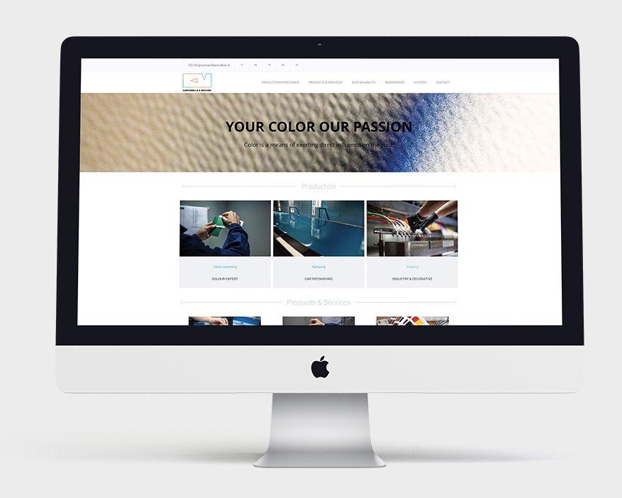 About Agency - Cantarella e Molteni progetto web