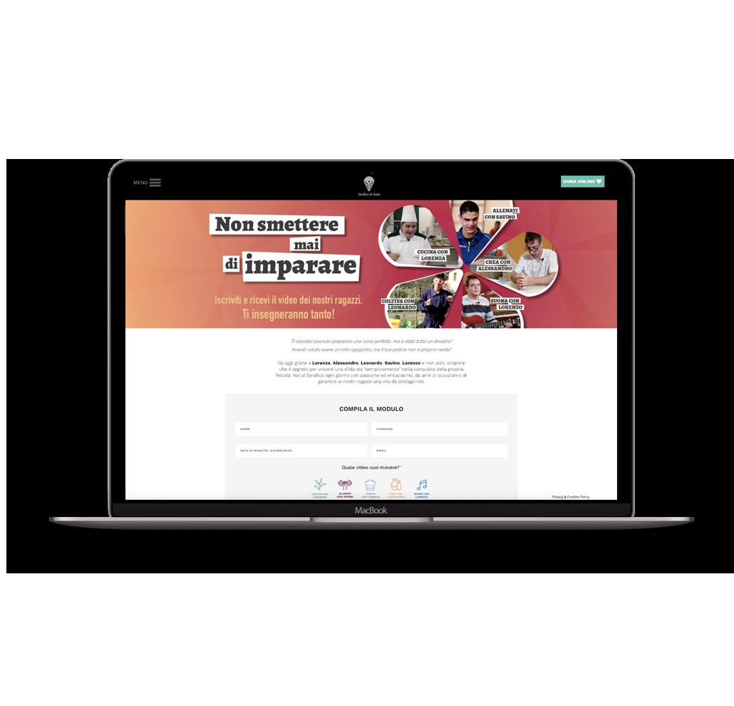 About Agency - non smettere mai di imparare newsletter1- Istituto Serafico di Assisi